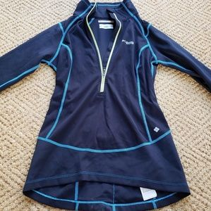 Columbia long sleeved cycling shirt XS